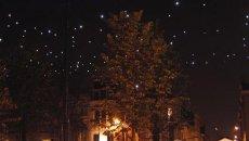 Ein Sternenhimmel mit LED-Leuchten und M12-Steckverbindern