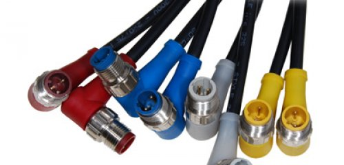 No more assembly mistakes with the colour coded M12 connectors from Shieldbly mistakes