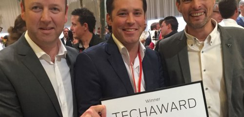A&C Solutions wins WOTS TechAward for most favorite novelty