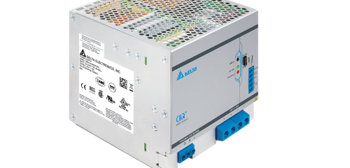 Delta CLIQ M 1440W in a compact DIN-Rail housing