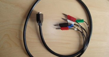 Combining D-sub cables with special cables