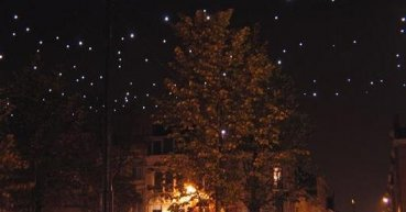 Un ciel étoilé avec éclairage LED et connecteurs M12
