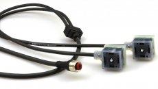 Connecteurs électrovanne avec des câbles plus longs