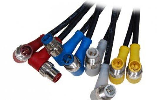 Geen aansluitingsfouten meer met de M12 kleurgecodeerde connectoren van Shield