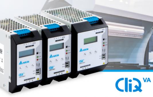 Delta introduceert CliQ VA series met geïntegreerde LCD display