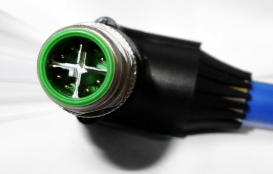 Ultra high speed M12 X-code connector van Provertha