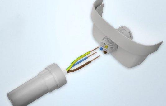 Armaturen snel & foutloos aangesloten met de Adels LCS75 waterproof connector