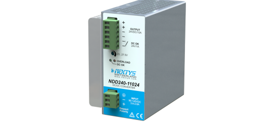 Nextys 110Vdc DC/DC converter 240W ideaal voor spoorwegtoepassingen