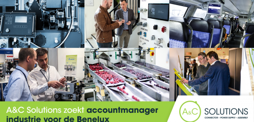 A&C Solutions zoekt een accountmanager Industrie