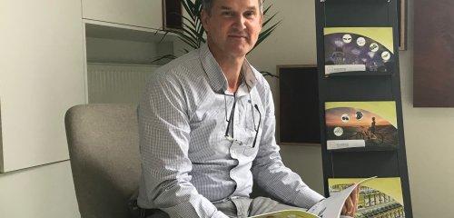 Nieuwe salescollega Eric Van Rooy aan het woord