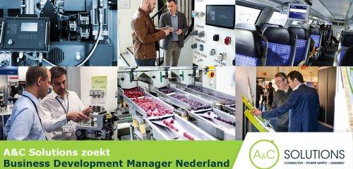 A&C Solutions zoekt business development manager Nederland
