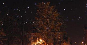 Een sterrenhemel met LED verlichting en M12 connectoren