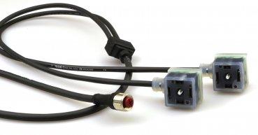 Magneetventielconnectoren met langere kabellengtes