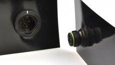 Creëer eenvoudig een lichtstraat van LED armaturen met Binder