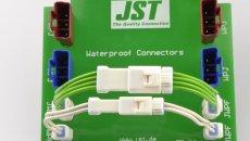 Waterdichte JWPF connector met stevige rubberen afdichting